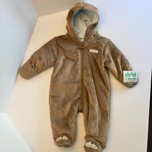 Child of Mine Onesie Bear Theme 0-3 Months New